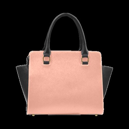 Canyon Sunset Color Accent Rivet Shoulder Handbag (Model 1645)