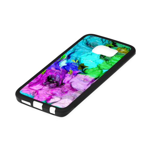 strange abstract 4 Rubber Case for Samsung Galaxy S6 Edge