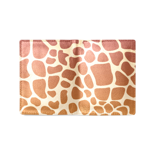 toppers animal print Men's Leather Wallet (Model 1612)