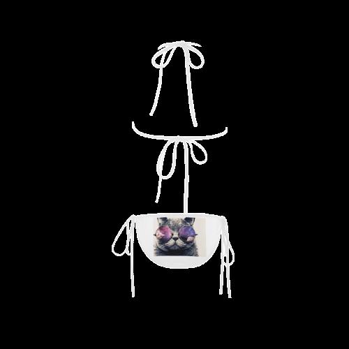 cat Custom Bikini Swimsuit