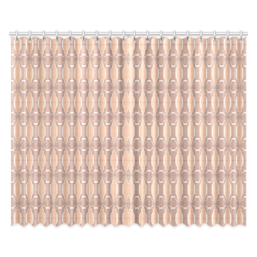 """Beige spring window curtains (52x84) 2 pieces Window Curtain 52""""x84""""(Two Pieces)"""