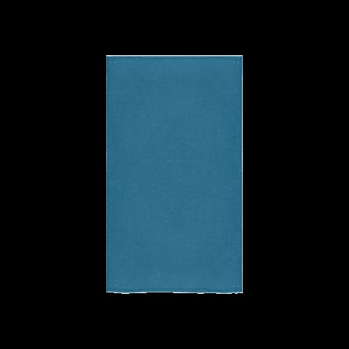"Blue Sapphire Color Accent Custom Towel 16""x28"""