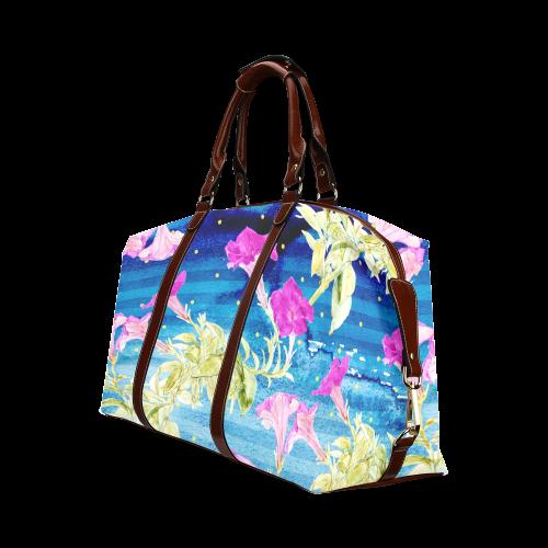 Floral Dream Classic Travel Bag (Model 1643)