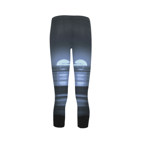 Moony Sunset Capri Legging (Model L02)