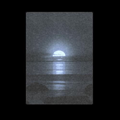 "Moony Sunset Blanket 58""x80"""