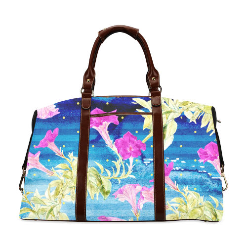 Floral Dream Classic Travel Bag (Model 1643)