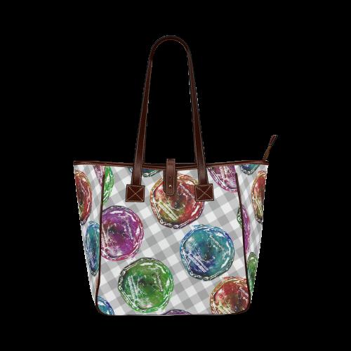Modern Pattern Classic Tote Bag (Model 1644)
