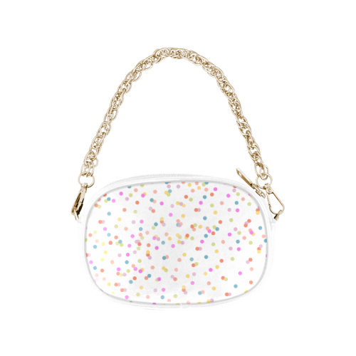 Retro Polka Dots Chain Purse (Model 1626)
