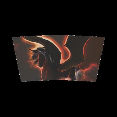 Wonderful dark unicorn Bandeau Top