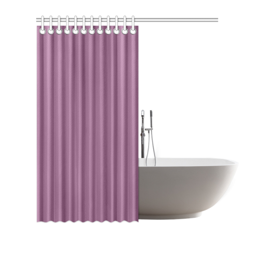 """Amethyst Color Accent Shower Curtain 72""""x72"""""""