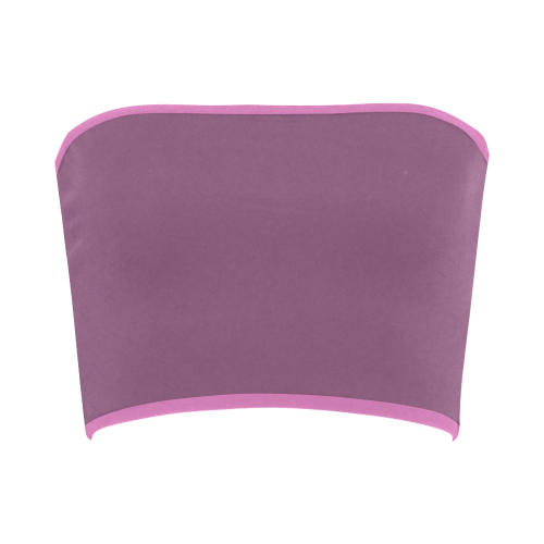 Amethyst Color Accent Bandeau Top