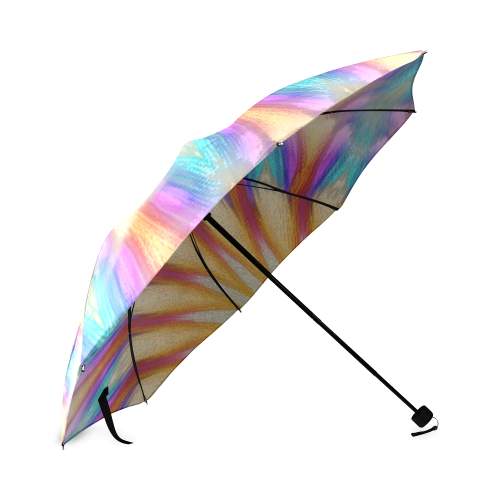 Peacock Feathers Foldable Umbrella