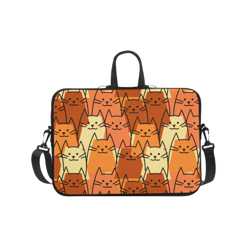Cute Cats Laptop Handbags 17""