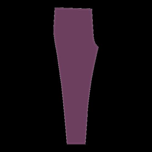 Amethyst Color Accent Cassandra Women's Leggings (Model L01)