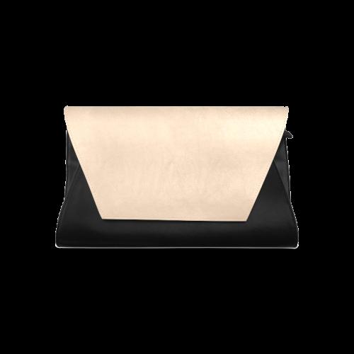 Apricot Illusion Color Accent Clutch Bag (Model 1630)