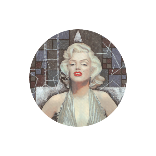 Marylin Monroe Round Mousepad