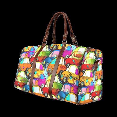 Traffic by Nico Bielow Waterproof Travel Bag/Large (Model 1639)