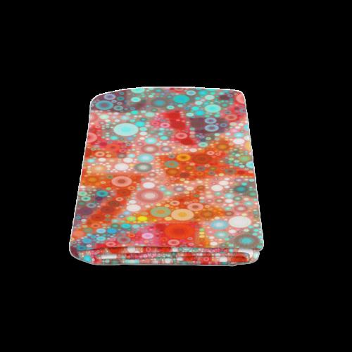 "Warm Summer Bubbles Blanket 58""x80"""