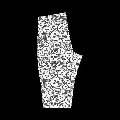 toon skulls Hestia Cropped Leggings (Model L03)