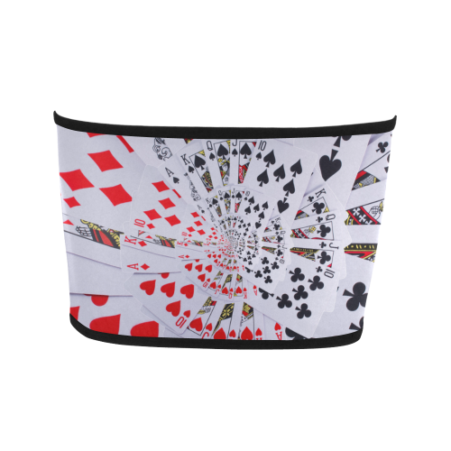 Casino Poker Royal Flush Spiral Droste Bandeau Top