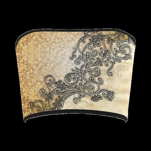 Wonderful vintage design Bandeau Top