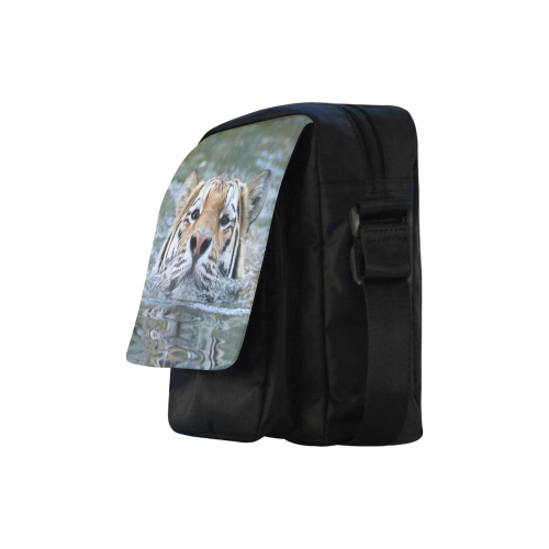 Tiger20160301 Crossbody Nylon Bags (Model 1633)