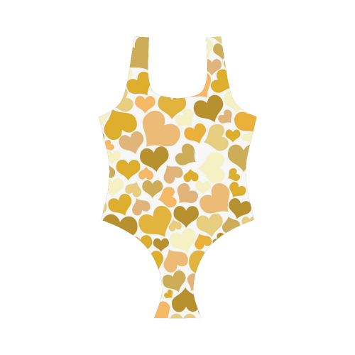 Heart 2014-0904 Vest One Piece Swimsuit (Model S04)