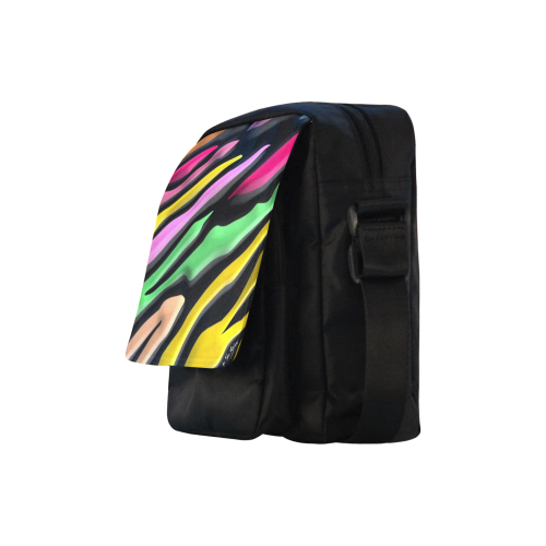 Rainbow by Nico Bielow Crossbody Nylon Bags (Model 1633)