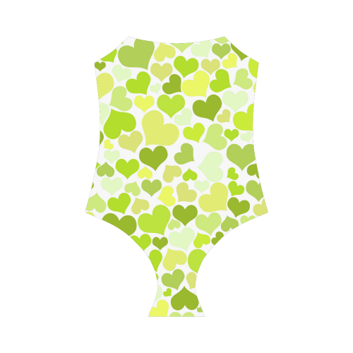 Heart 2014-0907 Strap Swimsuit ( Model S05)