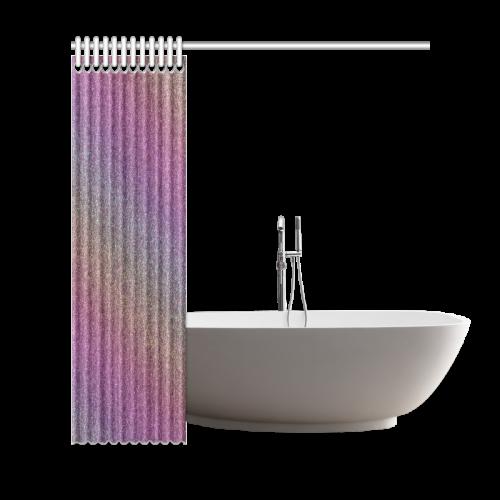 "Rainbow Gradient Shower Curtain 69""x72"""