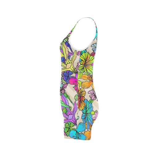 Floral20151020 Classic One Piece Swimwear (Model S03)