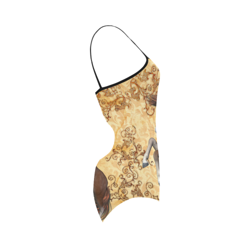 Beautiful horse Strap Swimsuit ( Model S05)