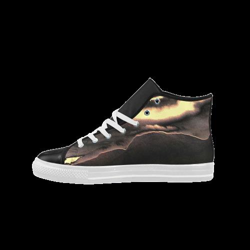 Blazing Portal - Jera Nour Aquila High Top Microfiber Leather Men's Shoes (Model 027)