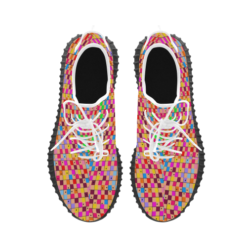 Pattern by Nico Bielow Grus Men's Breathable Woven Running Shoes (Model 022)