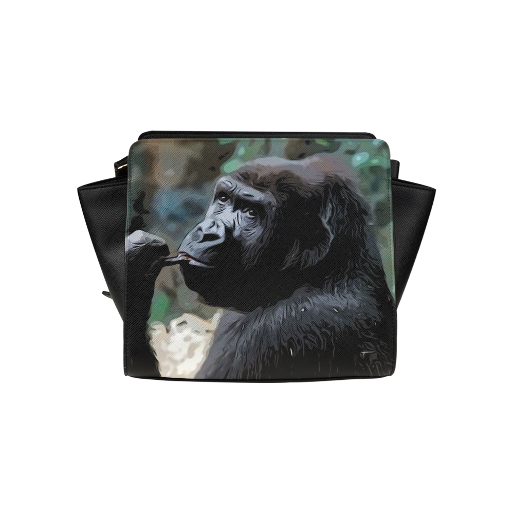 animal studio 16516 gorilla satchel bag model 1635
