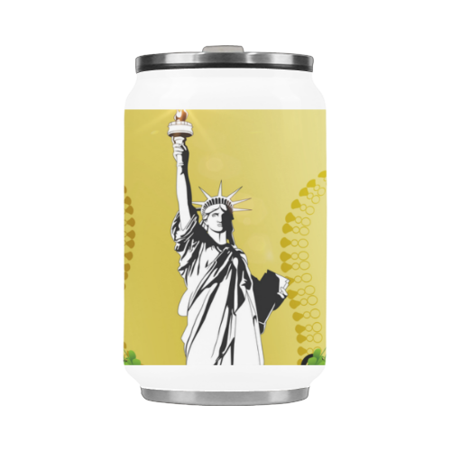Statue of liberty Stainless Steel Vacuum Mug (10.3OZ)