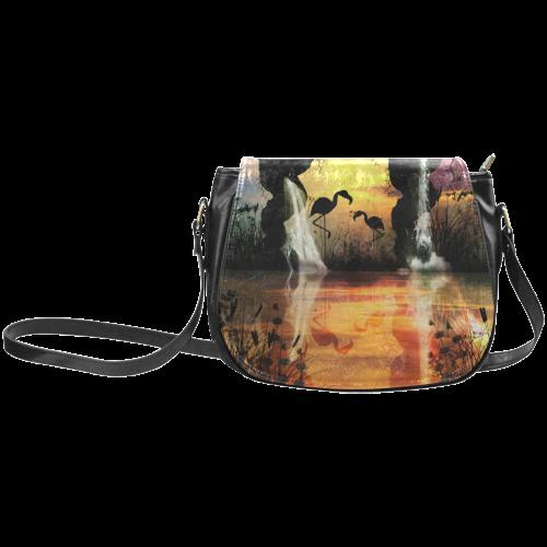 Flamingo Classic Saddle Bag/Large (Model 1648)