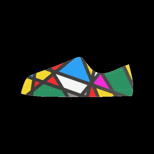 Pattern Mirror by Nico Bielow Aquila Microfiber Leather Women's Shoes (Model 028)