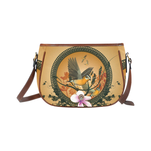 Birds Saddle Bag/Small (Model 1649) Full Customization