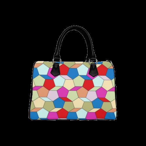 friendly summer pattern 04 Boston Handbag (Model 1621)