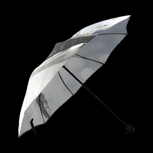 Grey Sparkling Santa Monica Pier Foldable Umbrella (Model U01)