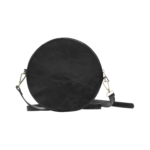Orca with mermaid Round Sling Bag (Model 1647)