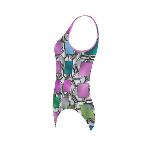 Square Nr1b Vest One Piece Swimsuit (Model S04)