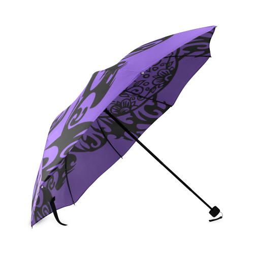 SKULL FILIGRAN Foldable Umbrella (Model U01)