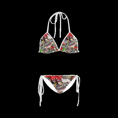 Las Vegas Icons - Gamblers Delight Custom Bikini Swimsuit