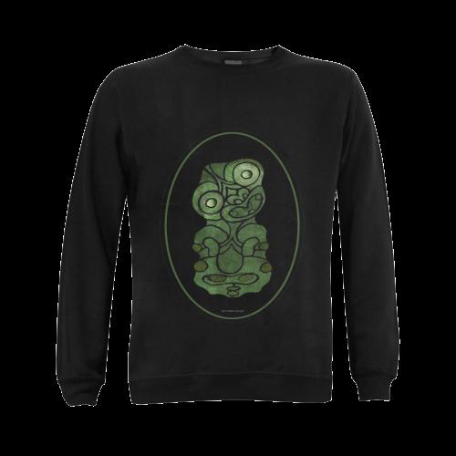 Maori Tiki New Zealand Gildan Crewneck Sweatshirt(NEW) (Model H01)