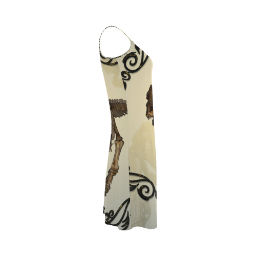 Dinosaur, t-rex Alcestis Slip Dress (Model D05)