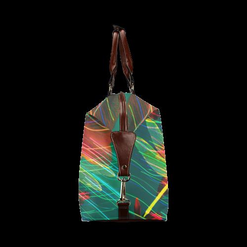 Yellow Dragonflies Classic Travel Bag (Model 1643)