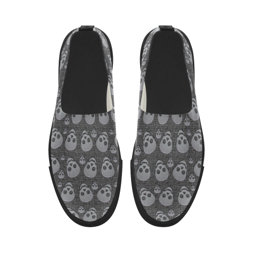 SKULLS EVOLUTION Apus Slip-on Microfiber Women's Shoes (Model 021)