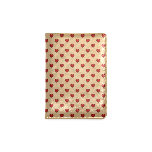 Retro Hearts Custom NoteBook A5